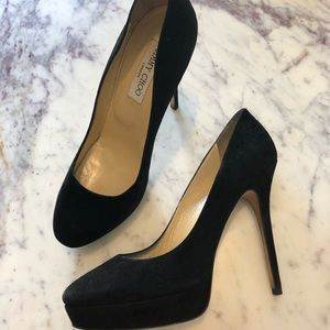 Jimmy Choo Cosmic Suede Pumps